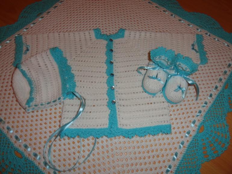 Для новорожденного вяжем своими руками